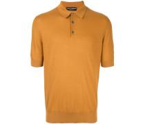 fine knit polo shirt