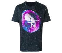 alien print T-shirt