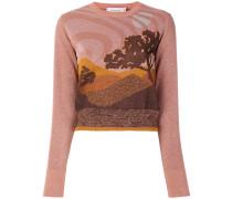 'Landscape' Pullover