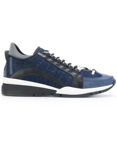 Dsquared2 Herren Jeans-Sneakers mit Kontrastsohle Kosten Günstig Online Finish Online YXoHEGyHBl