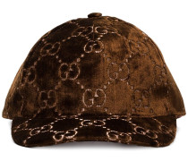 GG embroidered silk-blend baseball cap