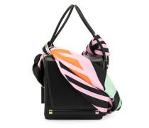 Handtasche mit Schal-Detail