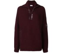 Pullover mit Lack-Details