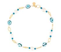 'Pearl & Eagle Eye' Halskette