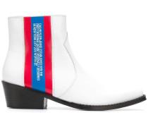 Stiefel mit Streifen