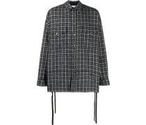 Tweed-Hemdjacke