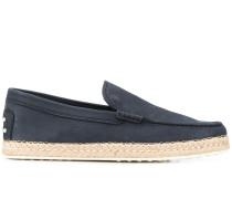 Loafer mit Espadrille-Sohle