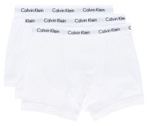 3er-Set Shorts mit Logos