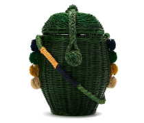 Mini-Tasche aus Korbgeflecht