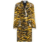 Mantel mit Tiger-Print