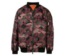 VLTN Bomberjacke mit Camouflage-Print