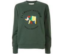 'Elephantastique' Sweatshirt im Boyfriend-Look