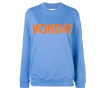 """Sweatshirt mit """"Monday""""-Patch"""