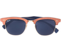 'Clubmaster Wood' Sonnenbrille