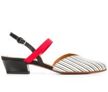 Slingback-Pumps mit spitzer Kappe