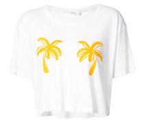 A.L.C. T-Shirt mit Palmen-Print