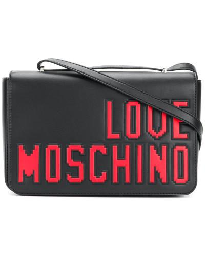 Moschino Damen 'Love Pixel' Schultertasche Schnell Express TrsszFS