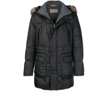 Gefütterter Mantel