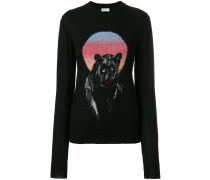 Pullover mit Panther-Motiv