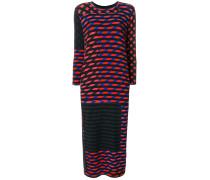 Beat Dress Crazy Stripes Print dress