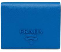 Kleines Portemonnaie mit Logo-Schild