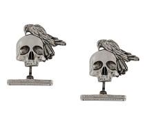 Manschettenknöpfe mit Totenkopf