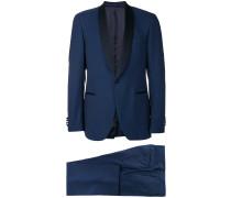 contrast lapel suit