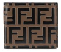 Portemonnaie mit FF-Muster