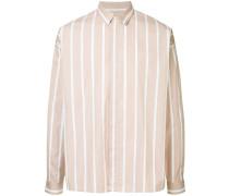 chalk stripe shirt