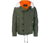 button padded jacket