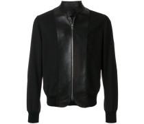 curved bomber jacket