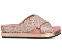 glitter Secet sandals