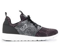 Sneakers mit Marmor-Print