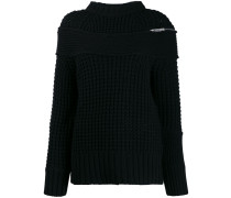 Pullover im Deconstructed-Look