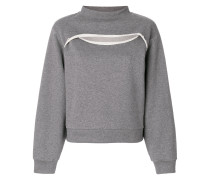 Sweatshirt mit Cut-Outs