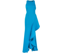 Kleid mit Oversized-Rüschen