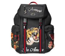 'Techpack' Rucksack mit Stickerei