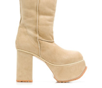 Stiefel mit Plateausohle