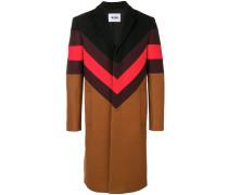 Mantel mit Zickzackmuster