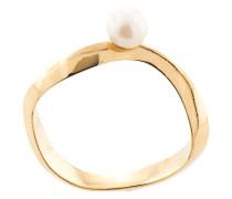 'Sahara' Ring mit Perlen