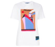 T-Shirt mit Boots-Print