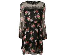 Kleid mit Blüten-Print