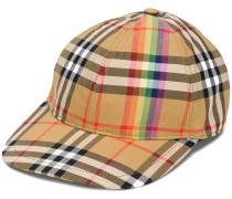 Rainbow Vintage Check cap