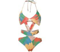 Badeanzug mit Print