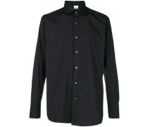 Button-down-Hemd aus Baumwollgemisch