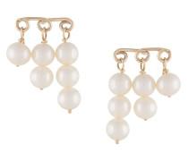 9kt 'Penelope' Gelbgoldohringe mit Perlen