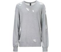 Sweatshirt mit Distressed-Effekt