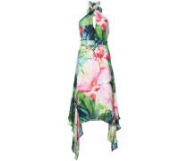 'Sunset Palms' Neckholder-Kleid