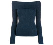 P.A.R.O.S.H. Schulterfreier Cropped-Pullover