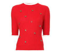 cherry charmed sweater